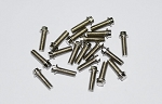 RC4WD Miniature Scale Hex Bolts (M2.5 x 8mm) (Silver)