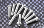 Button Head Cap Screws M3 x 12mm (10)