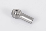 M6 High Precision Billet Tie Rod End w/M4 Ball (Gunmetal) (10)