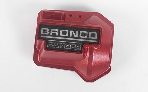Aluminum Diff Cover for Traxxas TRX-4 '79 Bronco Ranger XLT (Red)