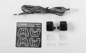 Square Work Lights for Mercedes-Benz Arocs 3348 6x4 Tipper Truck