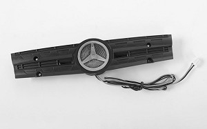 Grill Logo W/Light for Mercedes-Benz Arocs 3348 6x4 Tipper Truck (B)