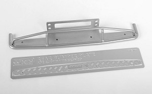 Steel Rear Bumper for 1/18 Gelande II RTR W/BlackJack Body (Silver)