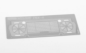 Radiator Guard for Traxxas TRX-4 '79 Bronco Ranger XLT