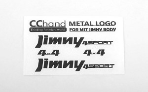 Metal Emblems MST 1/10 CMX w/ Jimny J3 Body (Black)