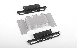 Rough Stuff Skid Plate w/Sliders for MST 1/10 CMX w/ Jimny J3 Body (Style B)