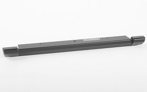 Slick Metal Rear Bumper for JS Scale 1/10 Range Rover Classic Body (Black)