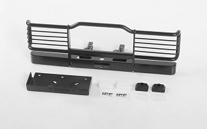 Camel Bumper W/ Winch Mount and IPF Lights for Traxxas TRX-4 Land Rover Defender