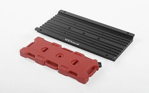 Overland Equipment Panel W/ Portable Fuel Cell for Traxxas TRX-4 Land Rover Defender