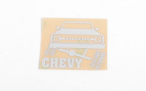Chrome Chevy Decals