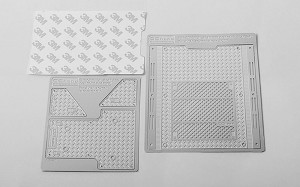 Diamond Plate Rear Bed for Axial 1/10 SCX10 II UMG10 4WD Rock Crawler