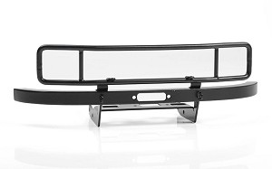 Ranch Steel Front Winch Bumper for Axial 1/10 SCX10 II UMG10 (Black)