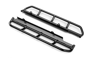 Krabs Steel Tube Side Sliders for Vanquish VS4-10 Origin Body (Black)