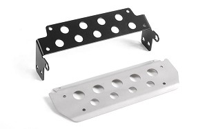Steel Steering Guard for RC4WD Gelande II 2015 Land Rover Defender D90 (Silver) (Pick-up/SUV)