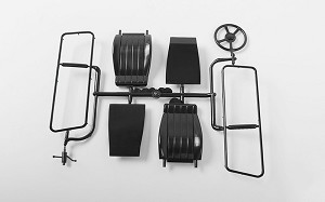 RC4WD Chevrolet Blazer Seats, Steering Column Parts Tree