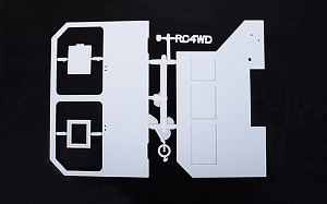 RC4WD Mil-Spec Hard Body Parts Tree (C)