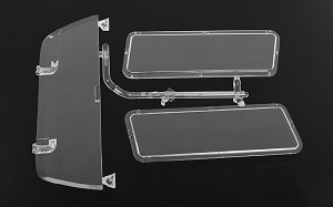 RC4WD Chevrolet Blazer Topper Clear Window Parts Tree