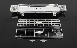 RC4WD Chevrolet Blazer Chrome Front Grille w/Optional Inserts