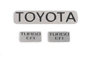RC4WD 1987 Toyota Xtra Cab Metal Emblems