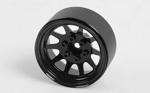 "OEM Stamped Steel 1.9"" Beadlock Wheels (Black)"