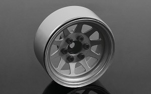 "OEM Stamped Steel 1.9"" Beadlock Wheels (Plain)"