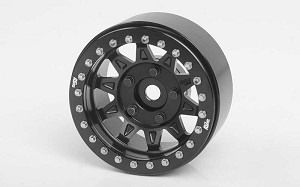 "RC4WD Dirty Life RoadKill 1.7"" Beadlock Wheels (Black)"