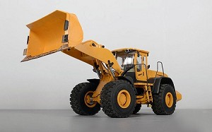 1/14 Scale Earth Mover 870K Hydraulic Wheel Loader (Yellow)