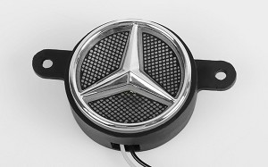 Ambient Light Logo w/Metal Logo for Mercedes-Benz Actros - 3363 6x4 GigaSpace (B)