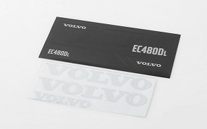 Volvo Decal Sheet Set for 1/14 Earth Digger 360L
