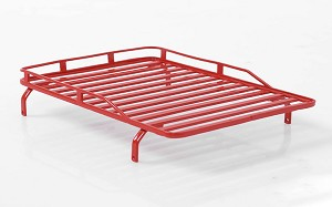 Roof Rack for 1/18 Gelande D90 (Red)