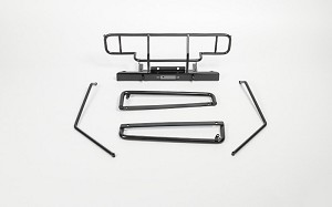 Rhino Bumper, Sliders and Bumper Extension Package for Gelande 2 Cruiser (Black)