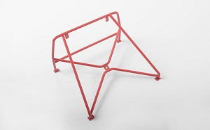 Roll Bar Rack w/Spare Mount for RC4WD Chevy Blazer Body (Red)