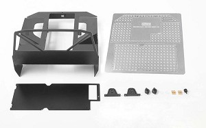 Metal Rear Bed for Mojave Body and Axial I & II (Style A)
