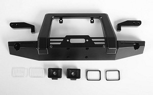 Pawn Metal Front Bumper w/Lights for Traxxas TRX-4