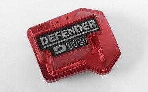 Defender D110 Diff Cover for Traxxas TRX-4 (Red)