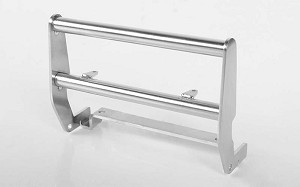 Cowboy Front Grille Guard for Traxxas TRX-4 '79 Bronco Ranger XLT (Silver)