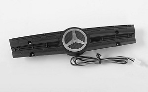 Grill Logo W/Light for Mercedes-Benz Arocs 3348 6x4 Tipper Truck (A)