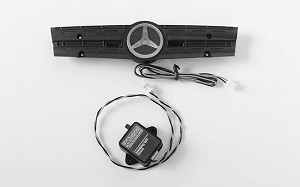 Ambient Light Grill Logo W/Strobe Effect Unit for Mercedes-Benz Arocs 3348 6x4 Tipper Truck (A)