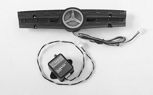 Ambient Light Grill Logo W/Strobe Effect Unit for Mercedes-Benz Arocs 3348 6x4 Tipper Truck (B)