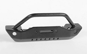 Steel Stinger Front Bumper for 1/18 Gelande II RTR W/Black Rock Body (Black)