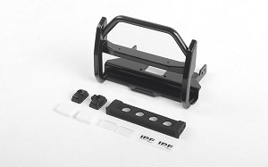 Wild Front Bumper w/ IPF Lights for Traxxas TRX-4 Mercedes-Benz G-500