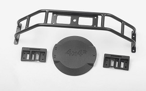 Spare Wheel and Tire Holder for Traxxas TRX-4 Mercedes-Benz G-500