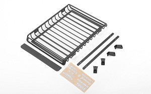 Choice Roof Rack and Roof Rack Rails for Capo Racing Samurai 1/6 RC Scale Crawler