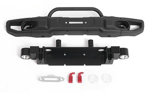 OEM Wide Front Winch Bumper for Axial 1/10 SCX10 III Jeep JLU Wrangler (B)