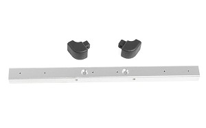 Classic Front Bumper for RC4WD Gelande II 2015 Land Rover Defender D90 (Silver)