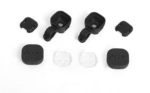 Offroad Light Set for Axial 1/10 SCX 10 III Jeep JLU Wrangler