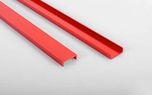 Semi Truck Chassis Frame Rails (Red)