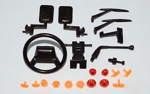Gelande II D90/D110 Hard Body Spare Parts Assortment