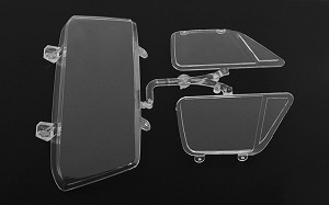 RC4WD Chevrolet Blazer Main Cab Clear Window Parts Tree