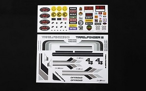Complete Graphic Decal Set for Mojave II 2/4 Door Body